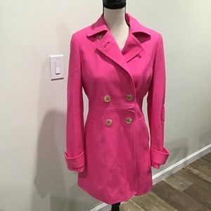 Banana Republic | pink coat